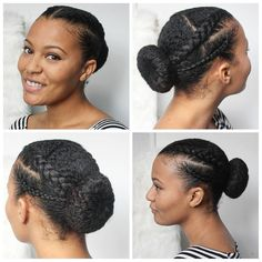 Easy protective hairstyles for natural hair