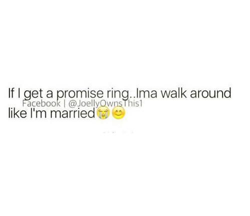 When do you get a promise ring