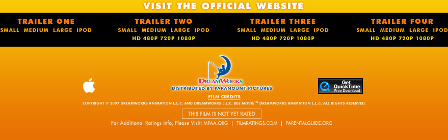 Free quicktime movie trailers