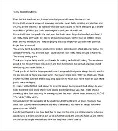 Love letter to girlfriend after breakup