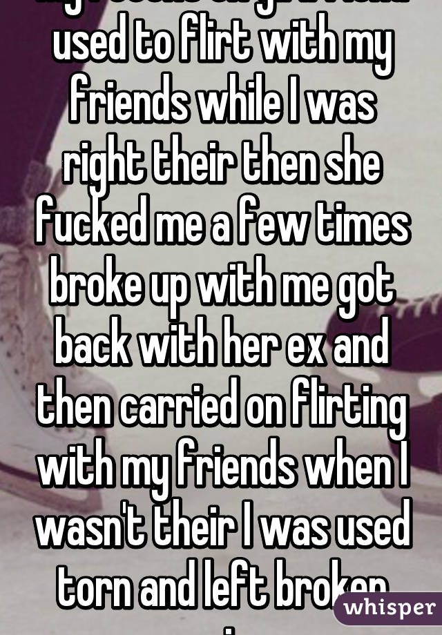 My girlfriend is friends with my ex