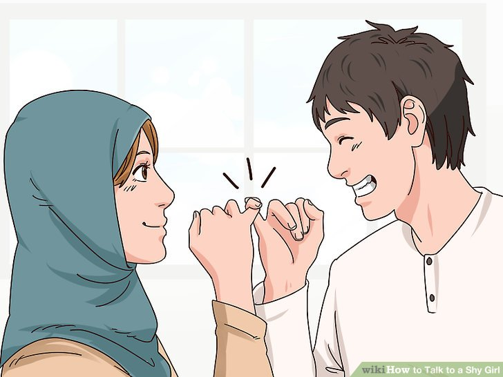 How to woo a shy girl