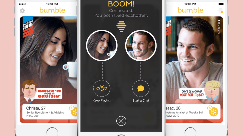 Bumble dating site android