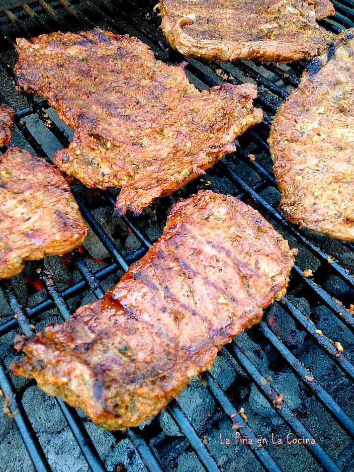 How to cook arrachera on the grill