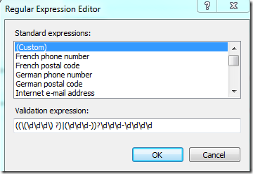 Validating numbers with regular expressions