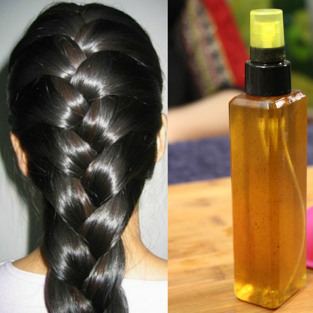 Remedies for thick and long hair