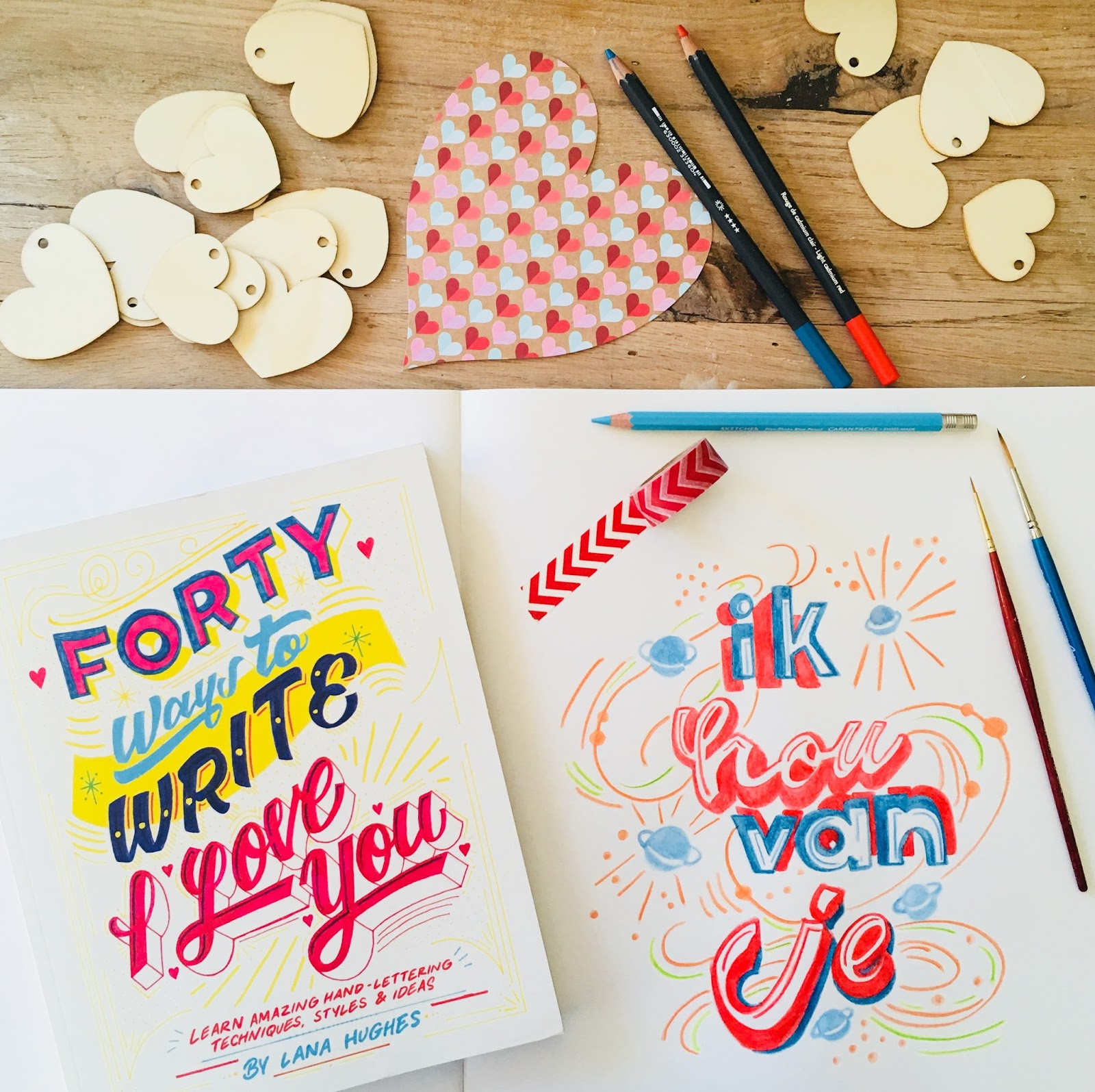 Different ways to write i love you