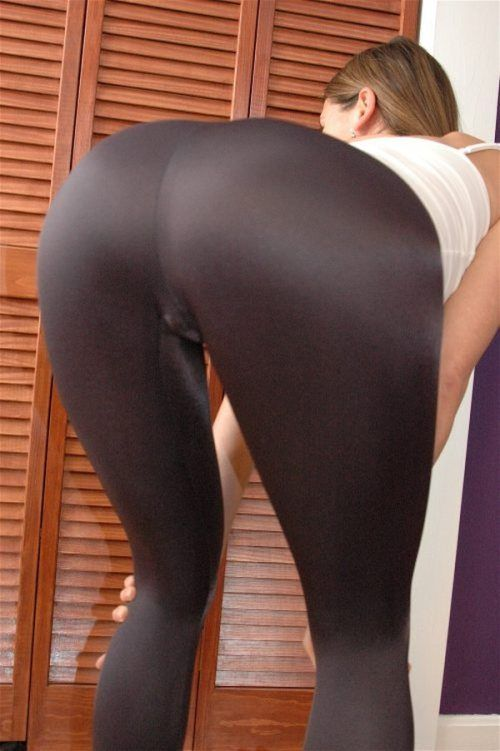 Sexy girls wearing yoga pants