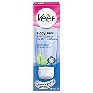 Veet hair removal cream bikini area