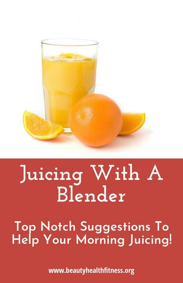 Things you can do with a juicer