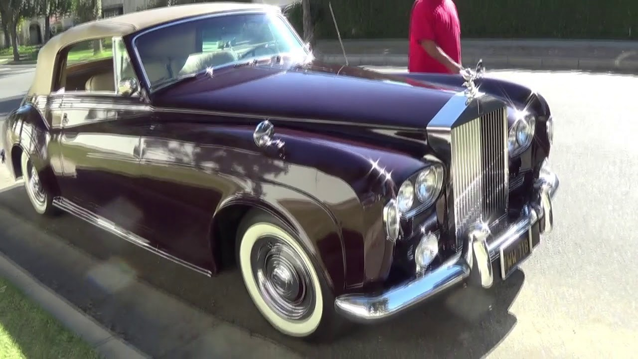 Rolls royce silver cloud 3 convertible