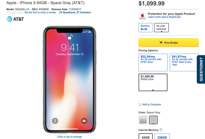Best place to buy iphone x