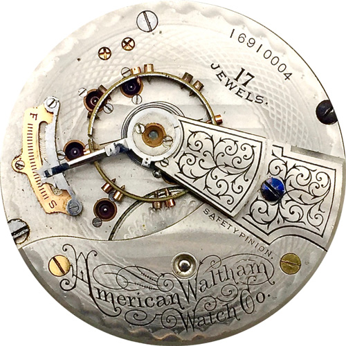 Waltham pocket watch serial number dating