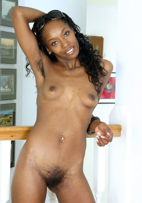 Young black skinny pussy