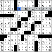 Implausible crossword clue