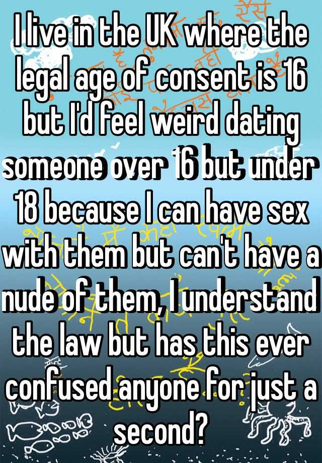 Is there a dating age law