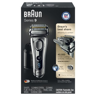 How to clean a braun shaver