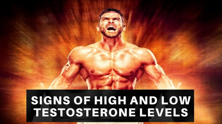 High level of testosterone side effects