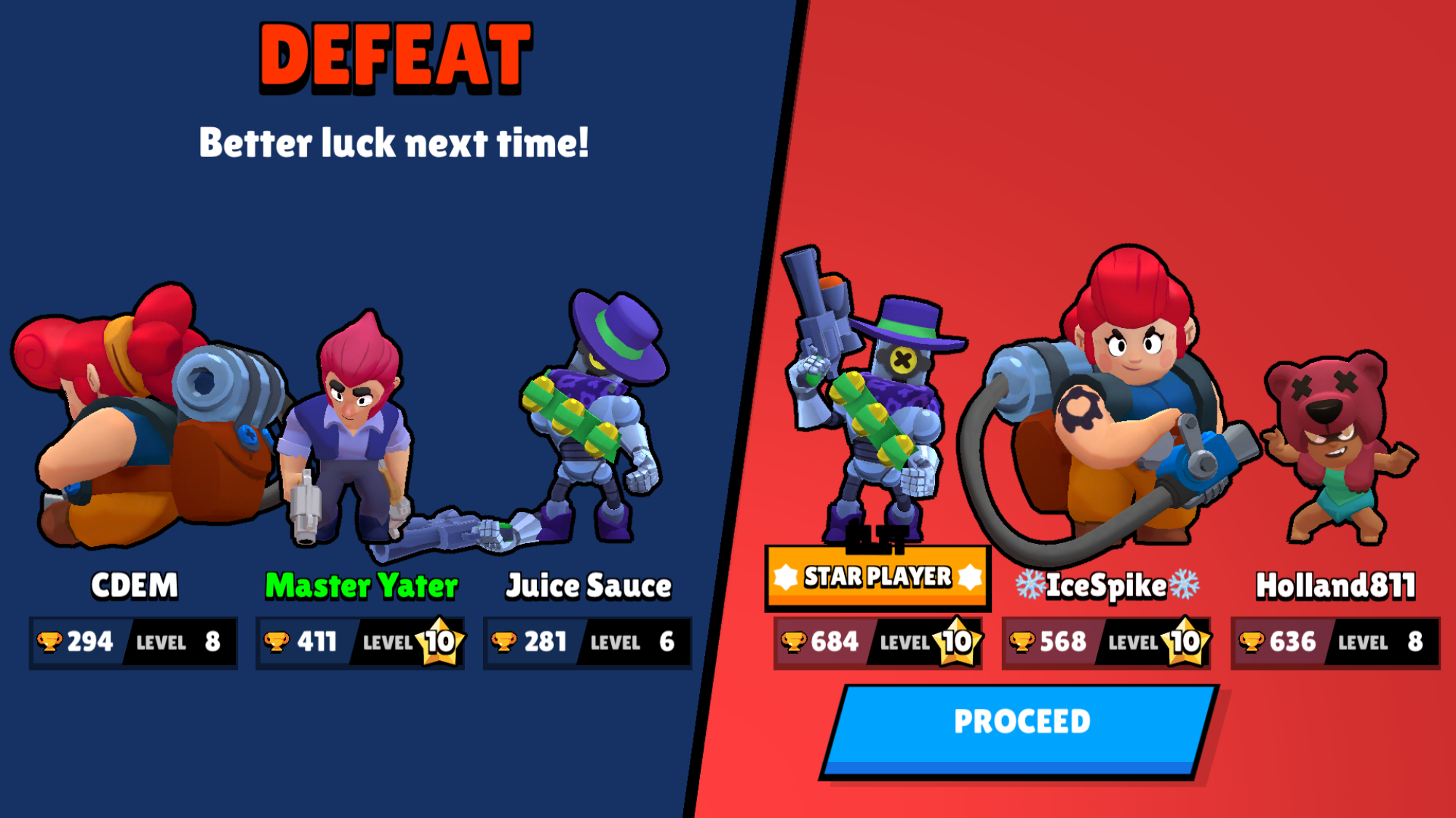 Red vs blue matchmaking