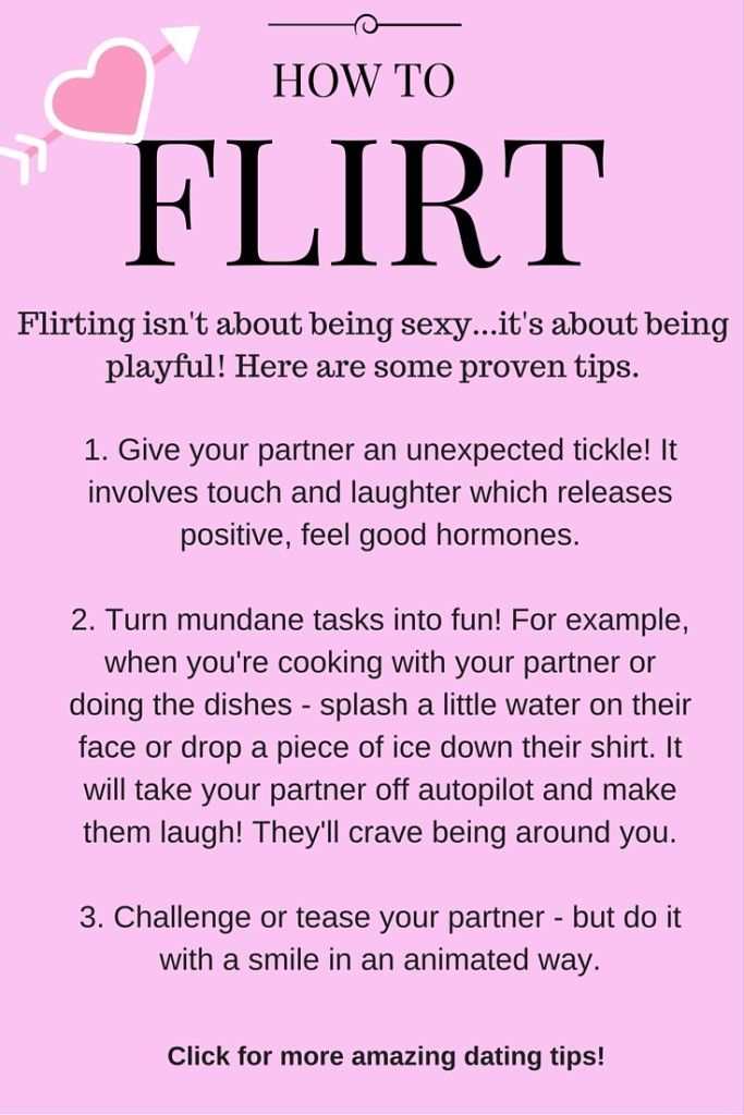 Tips to dating
