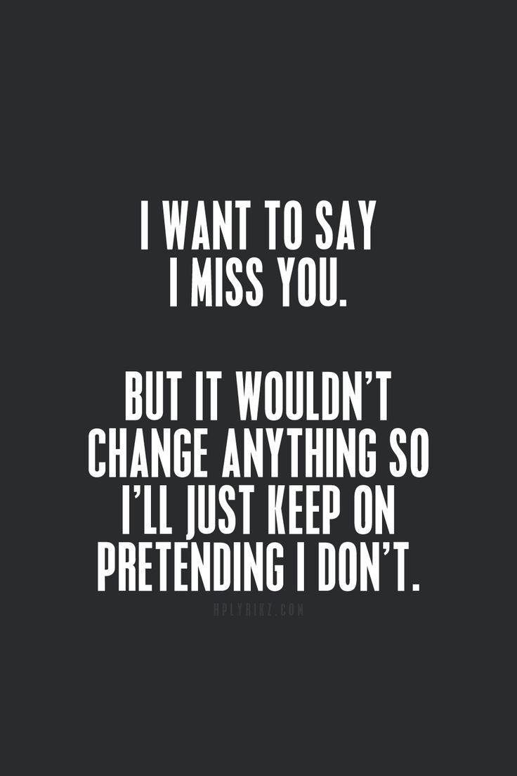 Missing you sad quotes