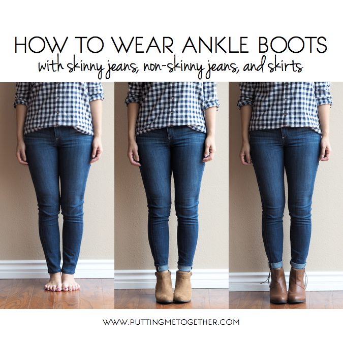 Ways to wear ankle boots