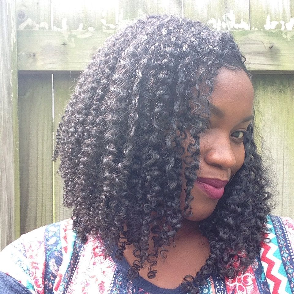 Using curl activator on natural hair
