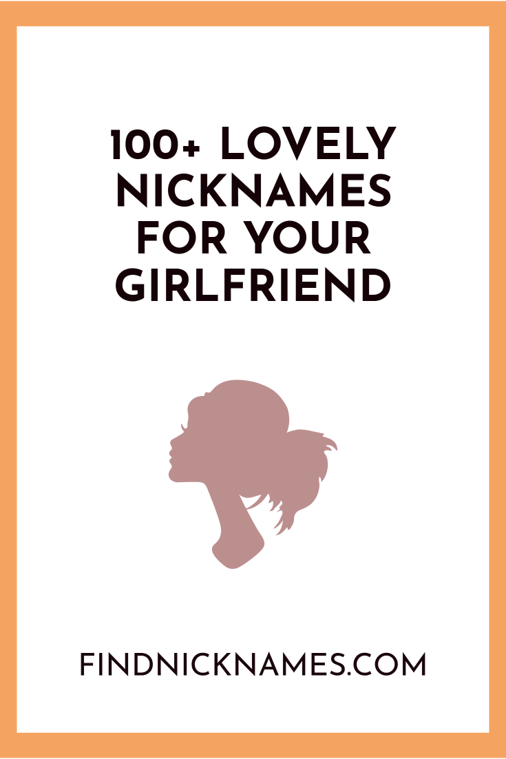 Cute names for girl friends