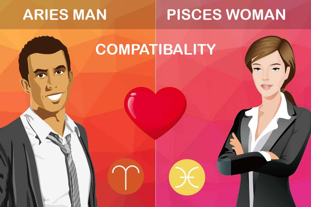 Aries man pisces woman sexually