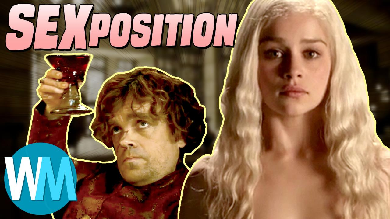 Game of thrones sexposition