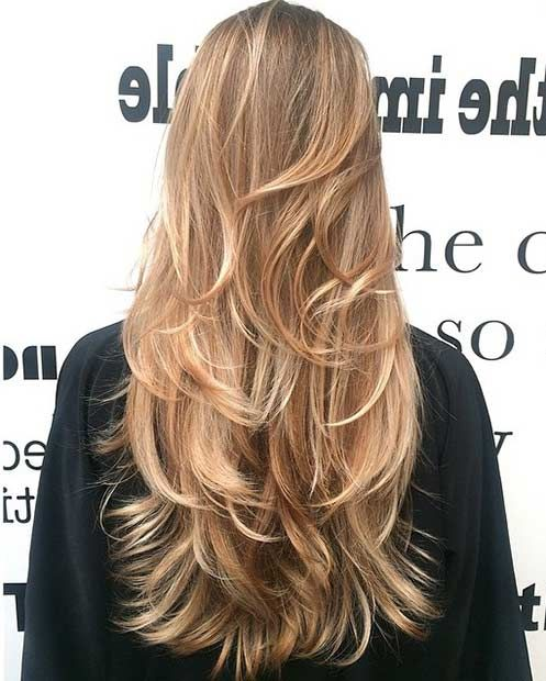 Layered looks for long hair