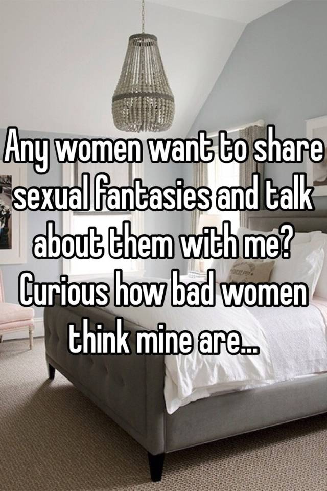Women share sexual fantasies