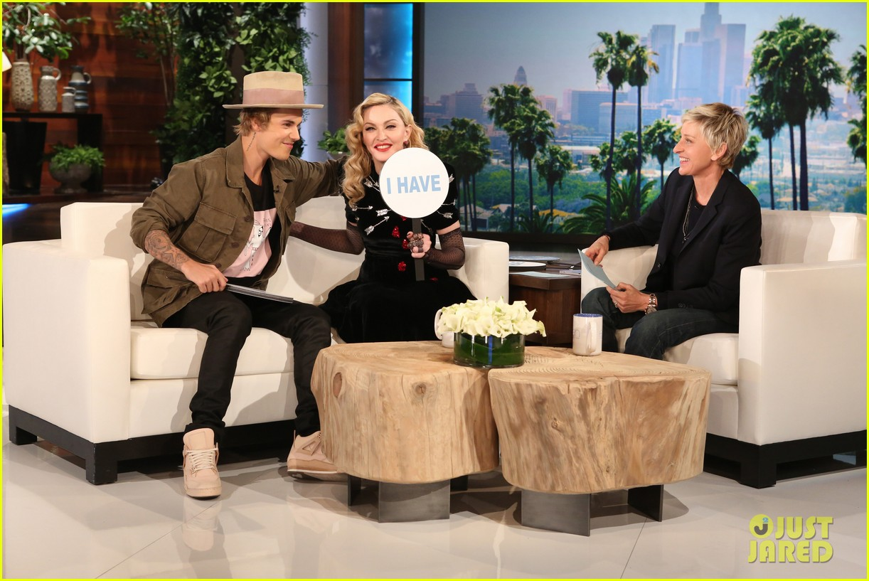 Madonna and justin bieber dating