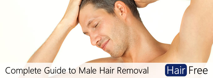 Manzilian laser hair removal