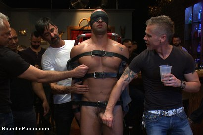 Bodybuilder humiliation