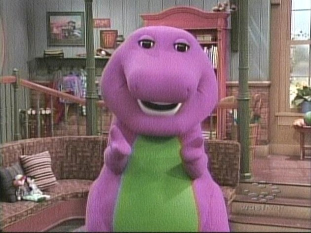 Who plays barney the purple dinosaur