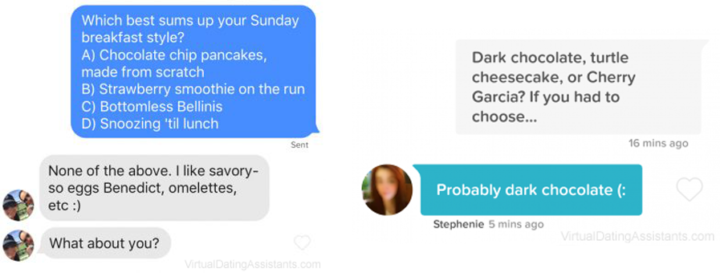Smooth conversation starters for online dating