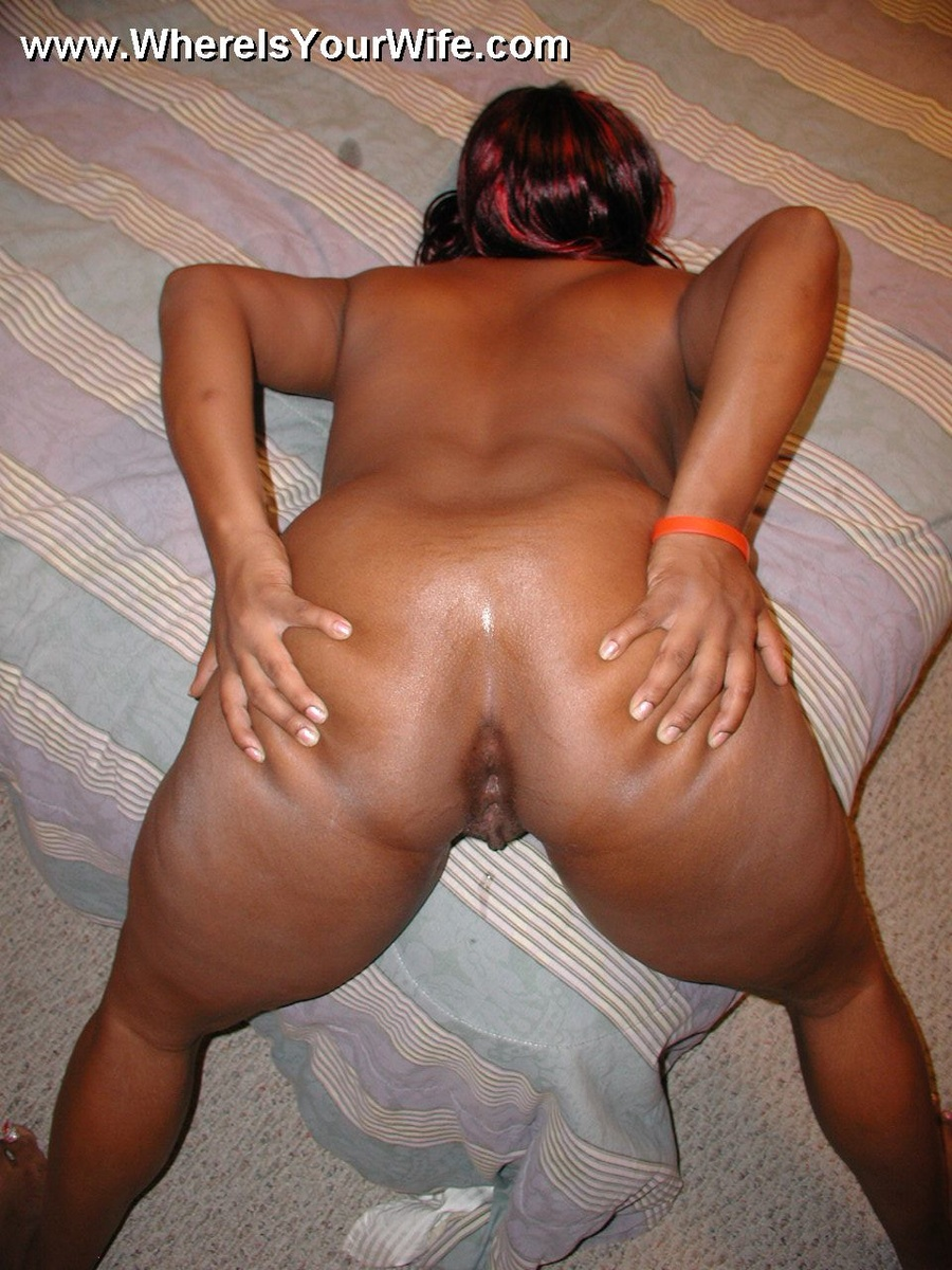 Big plump black ass