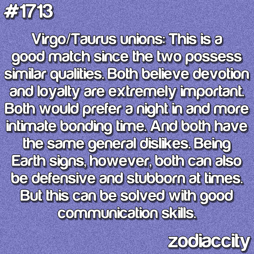 Compatibility of taurus man and virgo woman