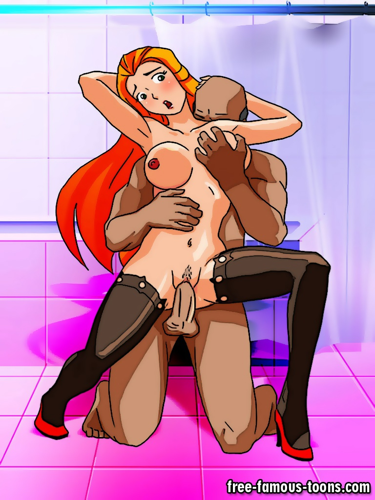 Totally spies fuck