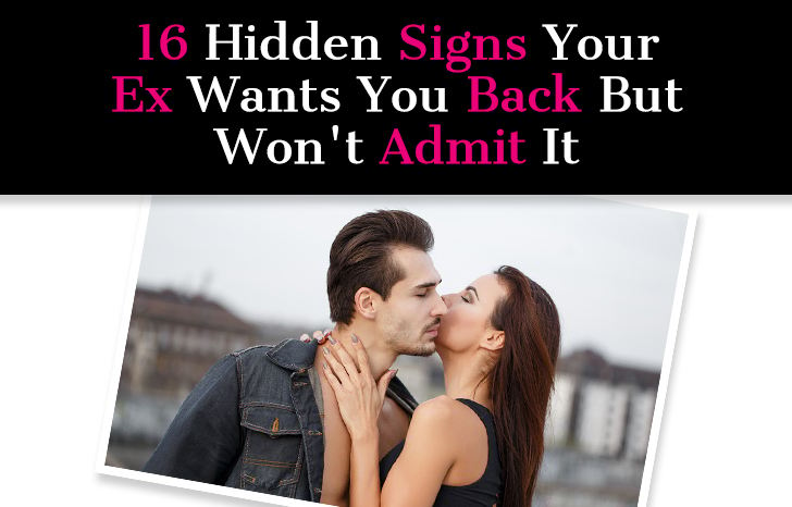 Signs my ex girlfriend still wants me