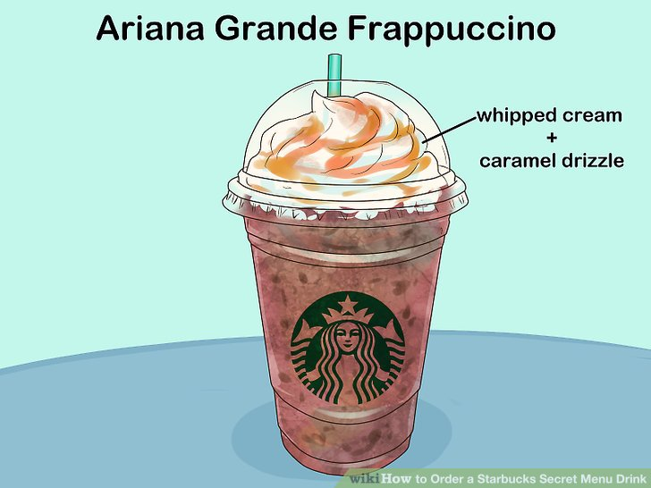 How do you order starbucks secret menu