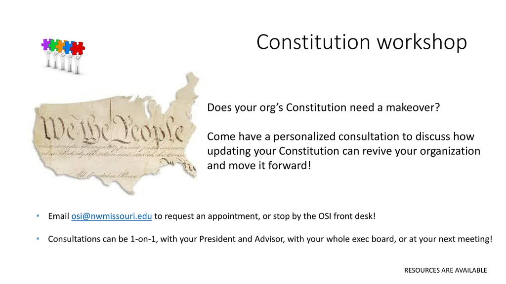 Does the constitution need updating