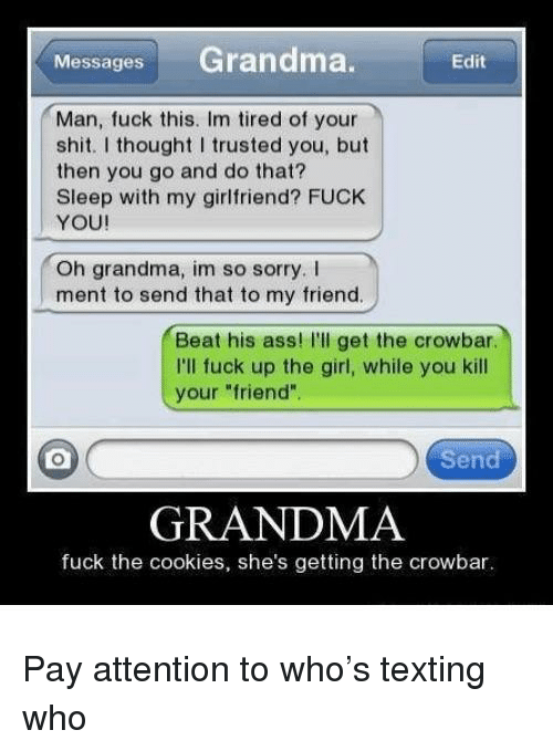 How to get your grandma to fuck you