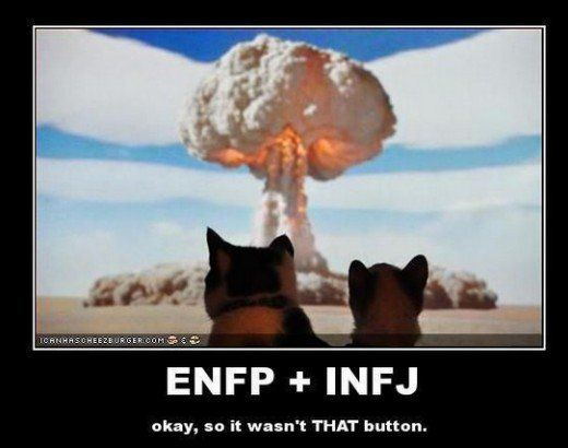 Enfp and infj