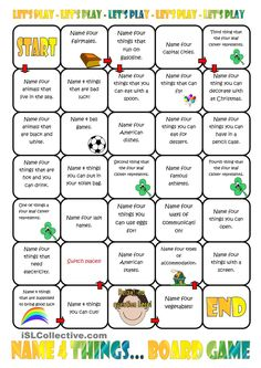 English lesson games for adults