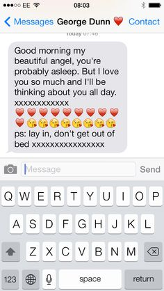 Sweet things to tell your girlfriend in the morning