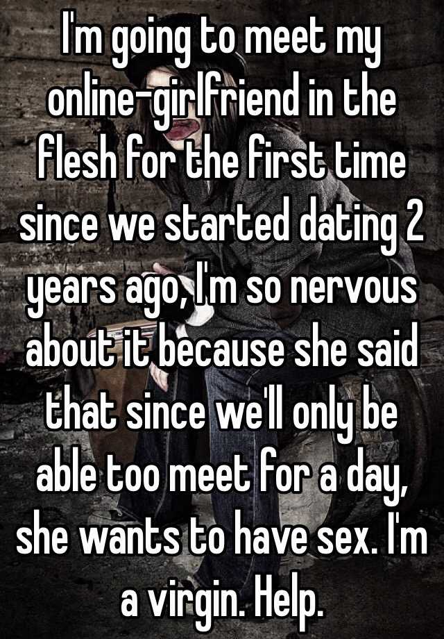 First time dating with girlfriend