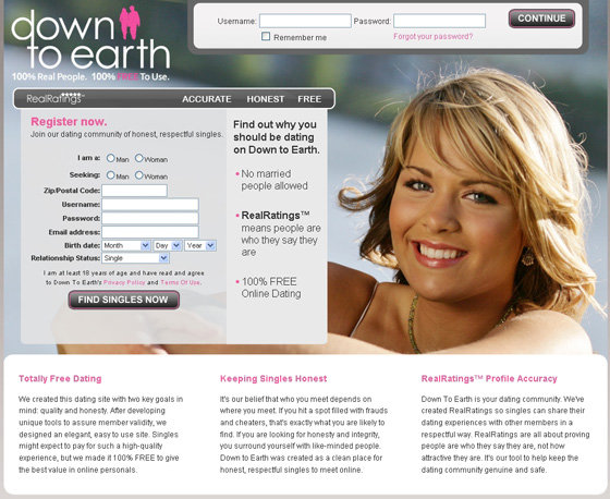 Free online dating site with