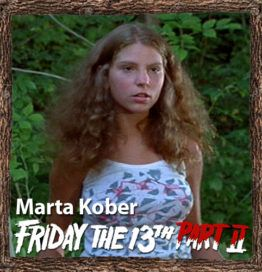 Friday the 13th part 2 hot girl